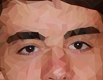 Autoportrait • Low Poly