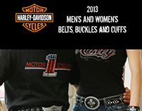 Harley Davidson license catalog 2013