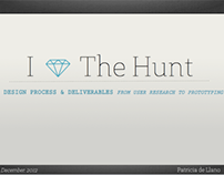 The Hunt.com: Design Process & Deliverables
