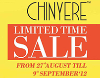 Chinyere Limited Time Sale Campaign '12