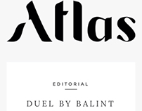 Editorial for Atlas magazine without photographer!