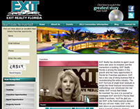 EXIT Realty Florida Website Redesign and Joomla CMS.