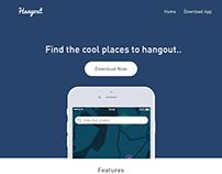 DailyUI #003: App Landing Page