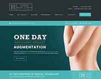 Plastic Surgeon Website Mockup