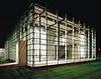 Company building in Freiburg/Breisgau, Germany