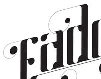 Fade typeface