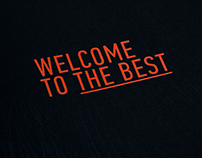 WELCOME TO THE BEST. Calendar DesignDepot '13