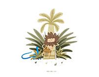 """""""STONE AGE""""_ Concept_ Picture book"""