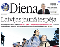NEWSPAPER DIENA SUBSCRIPTION CAMPAIGN