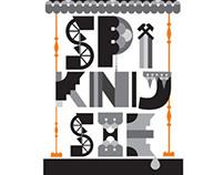 Wyróżniony projekt koszulki reklamującej Fest Design
