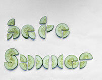 Hate Summer Love Cucumber   Stop Motion TYPO
