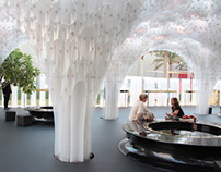 BVLGARI Pavilion at Abu Dhabi Art  2012