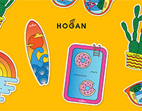 Hogan sticker pack