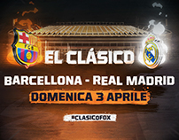 EL CLASICO - FOX SPORTS