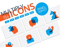 Multiply Icons collection