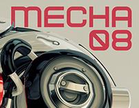 Mecha 08 - Free Font