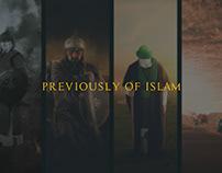 PREVIOUSLY OF ILSLAM- الحياة في العصر الاسلامي قديماً