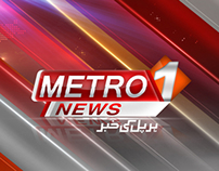 Metro One News Screen Graphic.