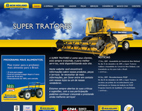 Super Tratores - Website