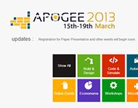 Apogee 2013 Website