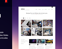 Dréan - Wordpress Portfolio Theme
