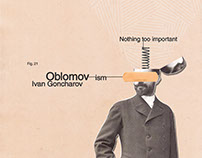 Oblomov [Book cover]