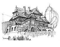 Travel sketchbook...Poland