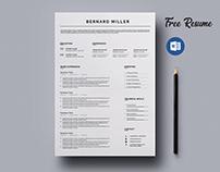 Free Resume Word