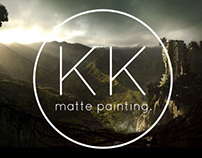 King Kong Matte Painting (cgchannel contest)