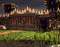 Base de Bandidos - 3D