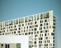 NEW RESIDENTIAL BUILDINGS IN MILANO COMPETITION ABDR