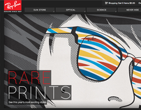Site Redesign // Ray-Ban / Luxottica