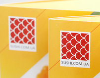 Booklet for sushi service delivery