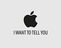 I want to tell you - Apple