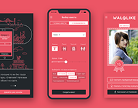WalQlike. Travel quest app.