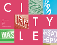 City Letterforms (2015)