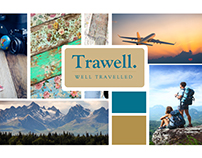 Logo Design for Tourist Agency ''TRAWELL''