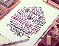 Hand Drawn Vector Stock
