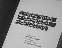 Scientific Study of UFOs