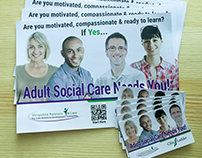 The Care Ladder Print Campaign