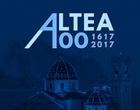 Logo Altea 400 años