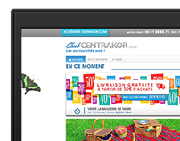 Club-Centrakor.com - Webdesign