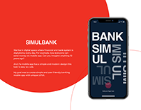 SIMULBANK - a banking mobile app