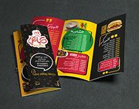 Menu + Packaging Kayaki Fast Food