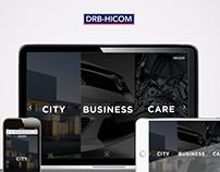 DRB HICOM WEBSITE REDESIGN