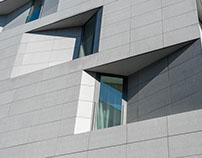 Apartment building in Sofia, Bulgaria
