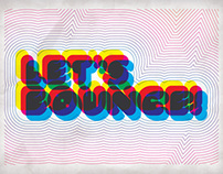Let's Bounce Invitation
