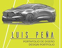 DESIGN PORTFOLIO LUIS PEÑA 2017