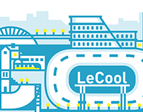 LeCool Roma Cover WebSite Illustration