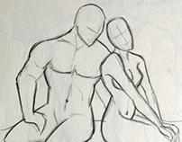 Anatomy Studies/ Estudos de Anatomia
